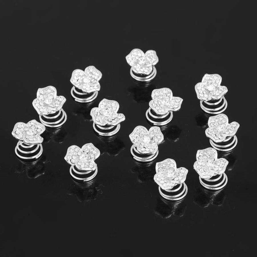 Fonkelende Curlies met Diamant - 6 stuks-2
