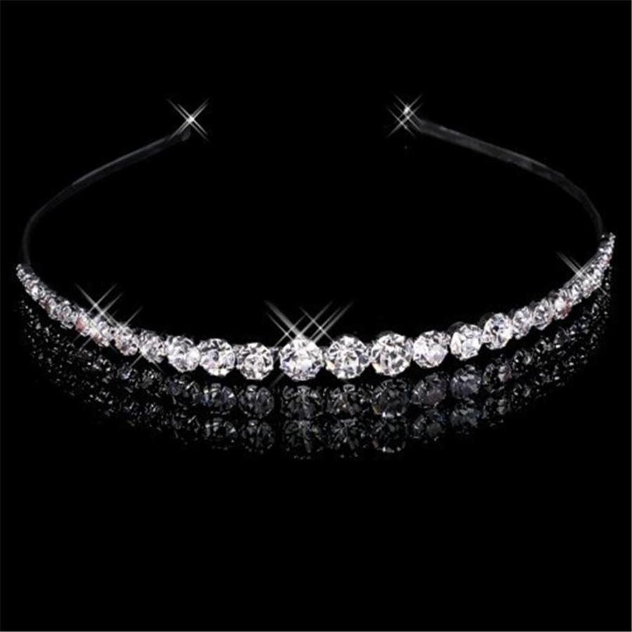 Elegante Diadeem met Kristallen-1