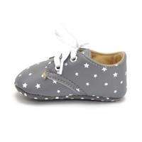 thumb-SALE - Grijze Schoentjes met Witte Sterretjes - 12 tot 18 maanden-5
