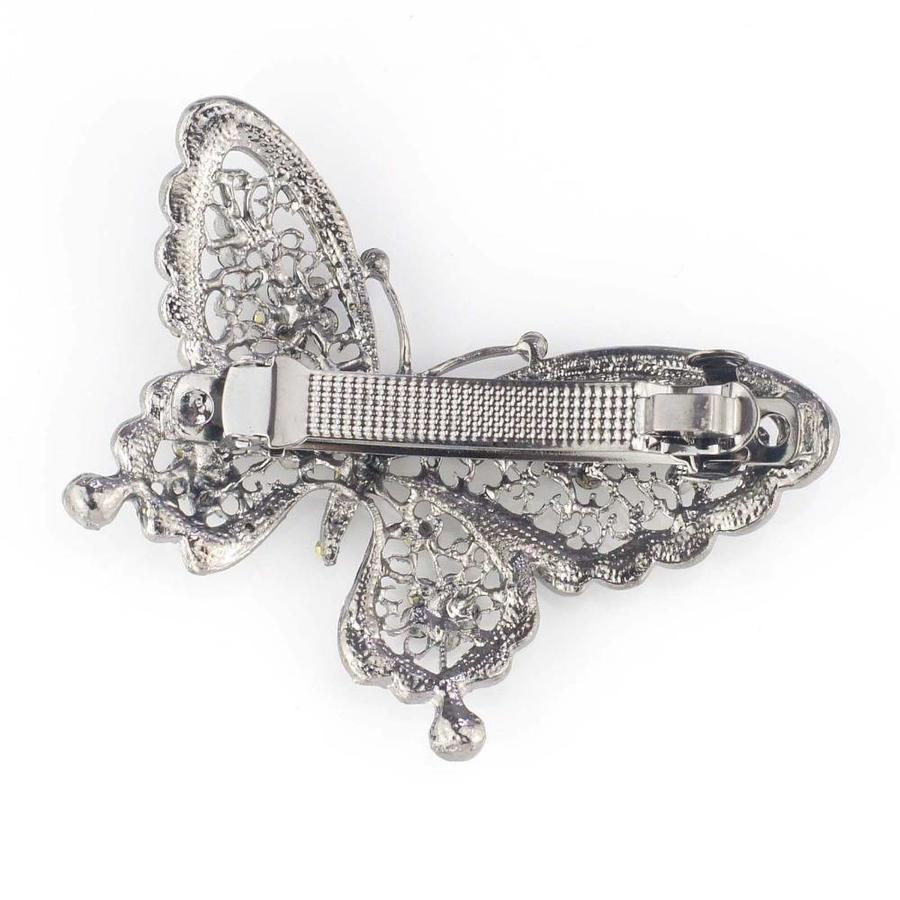 Fonkelende Vlinder Haarclip-2