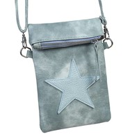 thumb-SALE - Flip top star bag / schoudertas / Groen-1