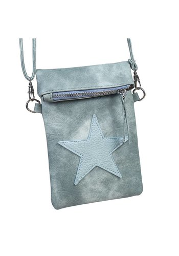 Flip top star bag / schoudertas / Groen