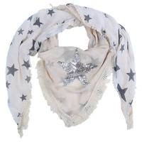 thumb-Prachtige Sjaal Stars - Off White-2