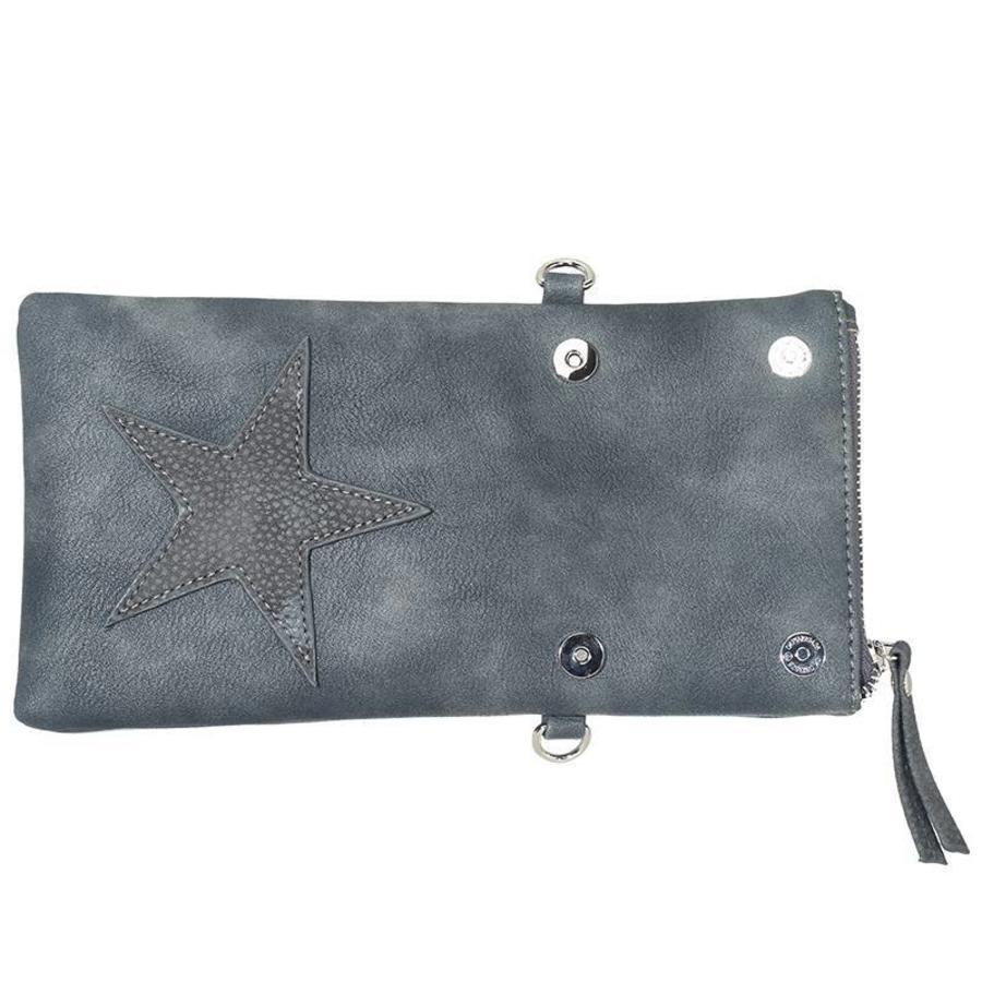 Flip top star bag / schoudertas / Bruin-3