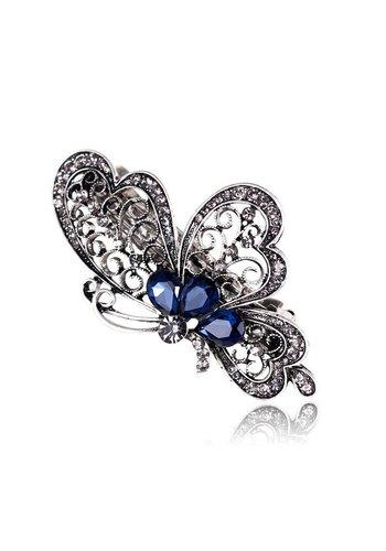 Chique Vlinder Haarclip - Blauw