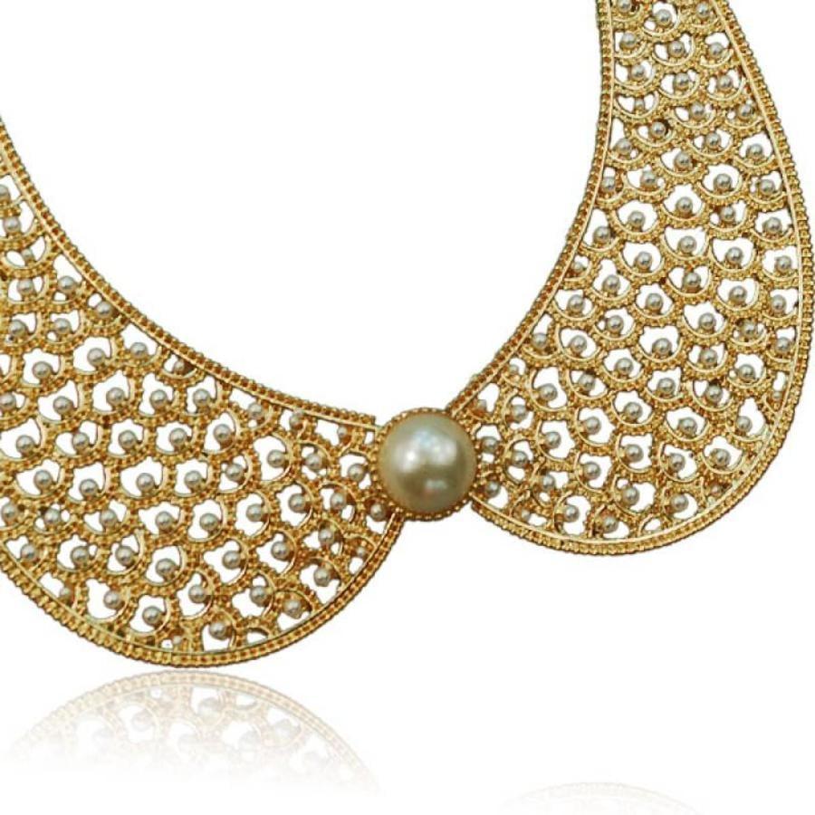 SALE - Ketting Collar Pearl-2