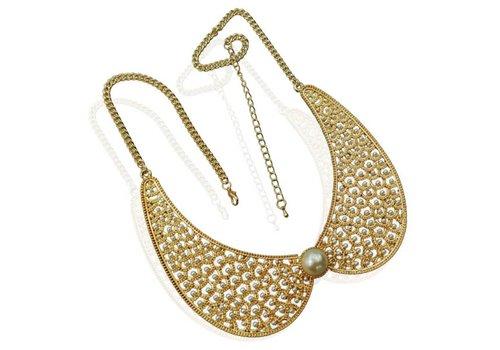 SALE - Ketting Collar Pearl