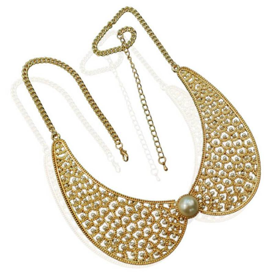 SALE - Ketting Collar Pearl-1