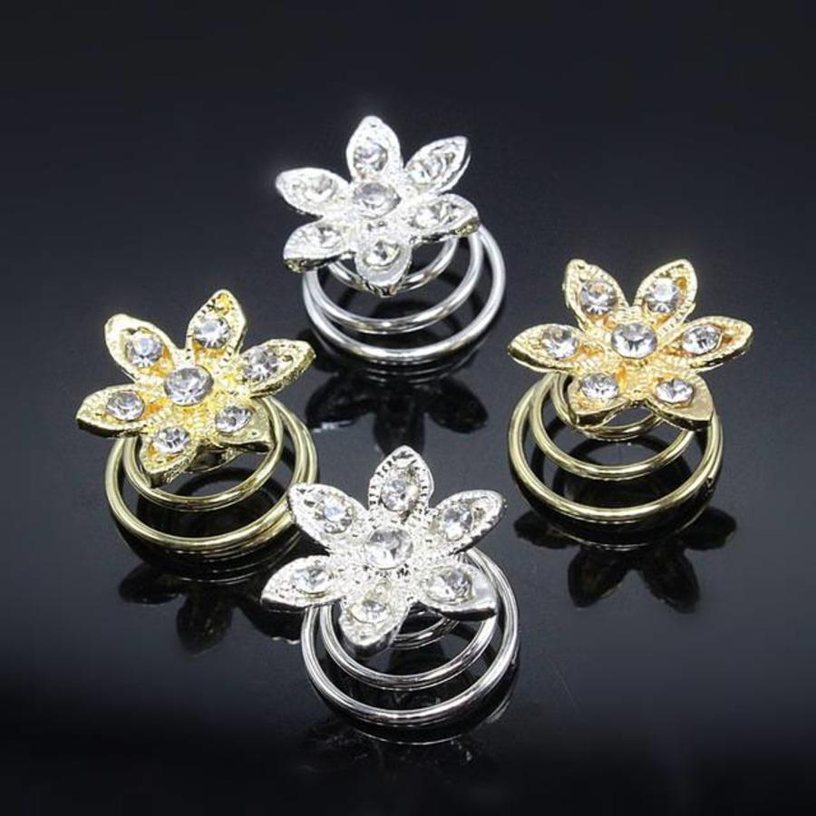 Goudkleurige Curlies Flower - 5 stuks-2