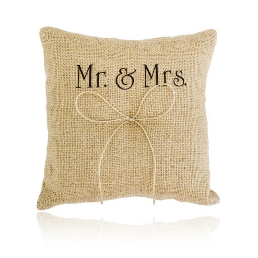 Jute Ringkussen Groot  Mr. & Mrs.-1