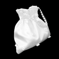 thumb-Bruidstasje met Roosjes - Wit-5