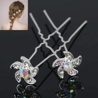 thumb-Hairpins – Flower - 4 stuks-2