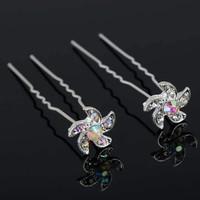 thumb-Hairpins – Flower - 4 stuks-1
