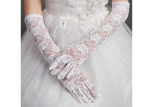 Vintage Bruidshandschoenen - Wit