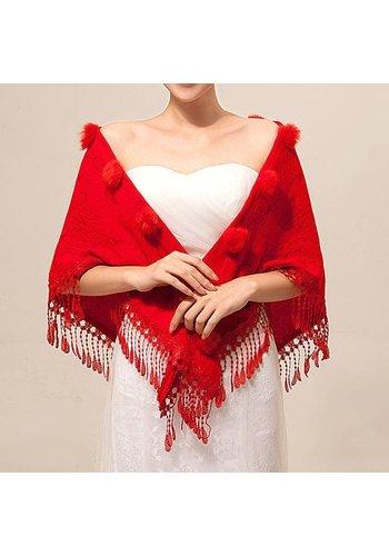 SALE - Prachtige Rode Sjaal