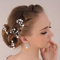 thumb-Hairpins – Parelmoer kleurige Parels - 2 stuks-1