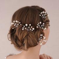 thumb-Hairpins – Parelmoer kleurige Parels - 2 stuks-2