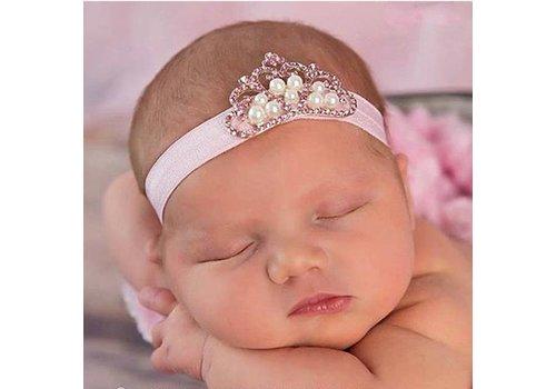 Haarband Kroontje - Newborn