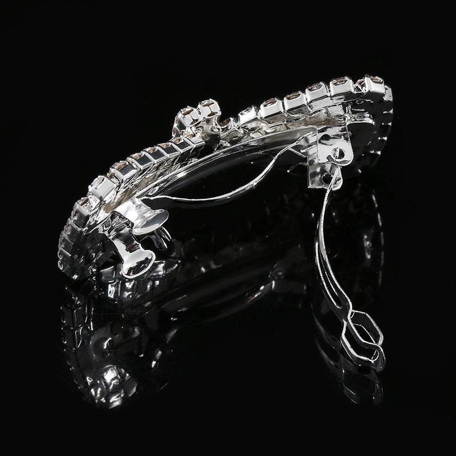 Chique Haarclip Strik met Kristallen-3