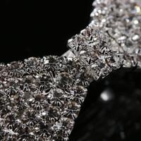 thumb-Chique Haarclip Strik met Kristallen-2