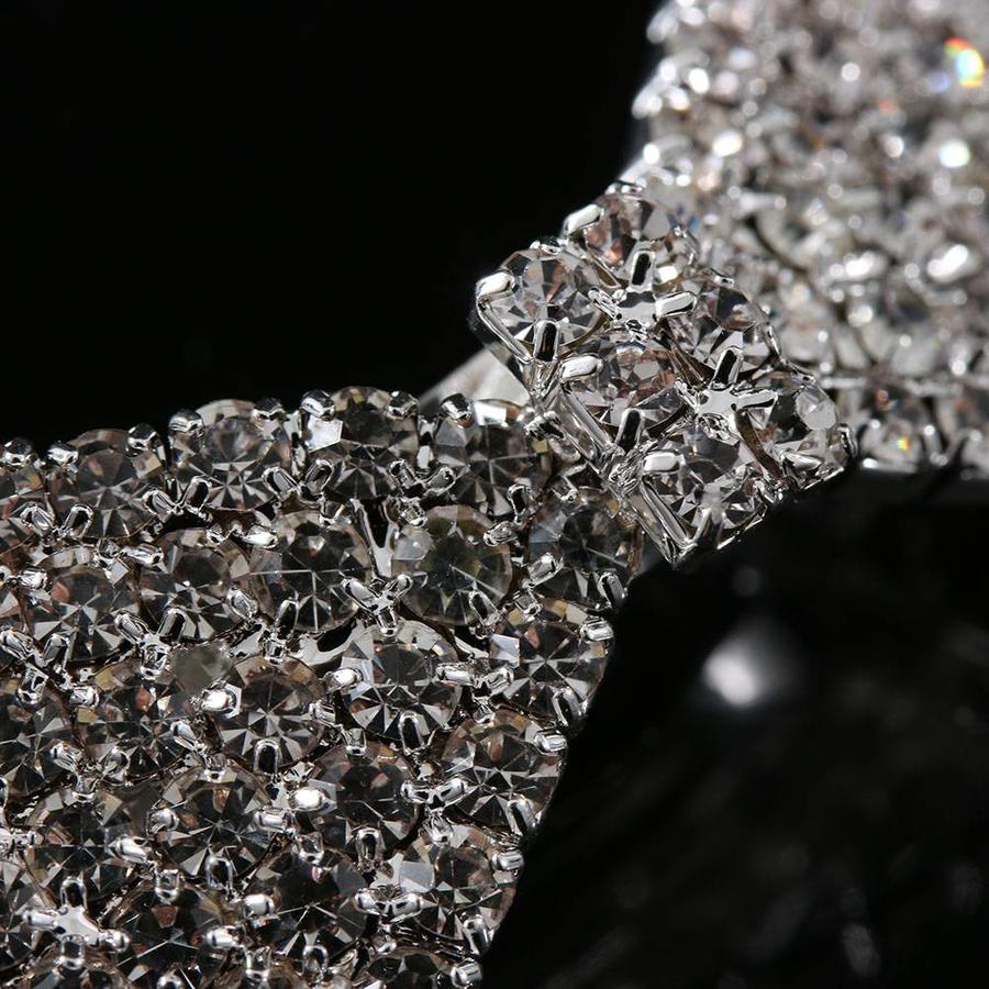 Chique Haarclip Strik met Kristallen-2