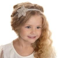 thumb-Haar Sieraad / Haarband Bloem met Fonkelende Kristallen-1