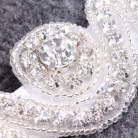 thumb-Haar Sieraad / Haarband met Fonkelende Kristallen-4