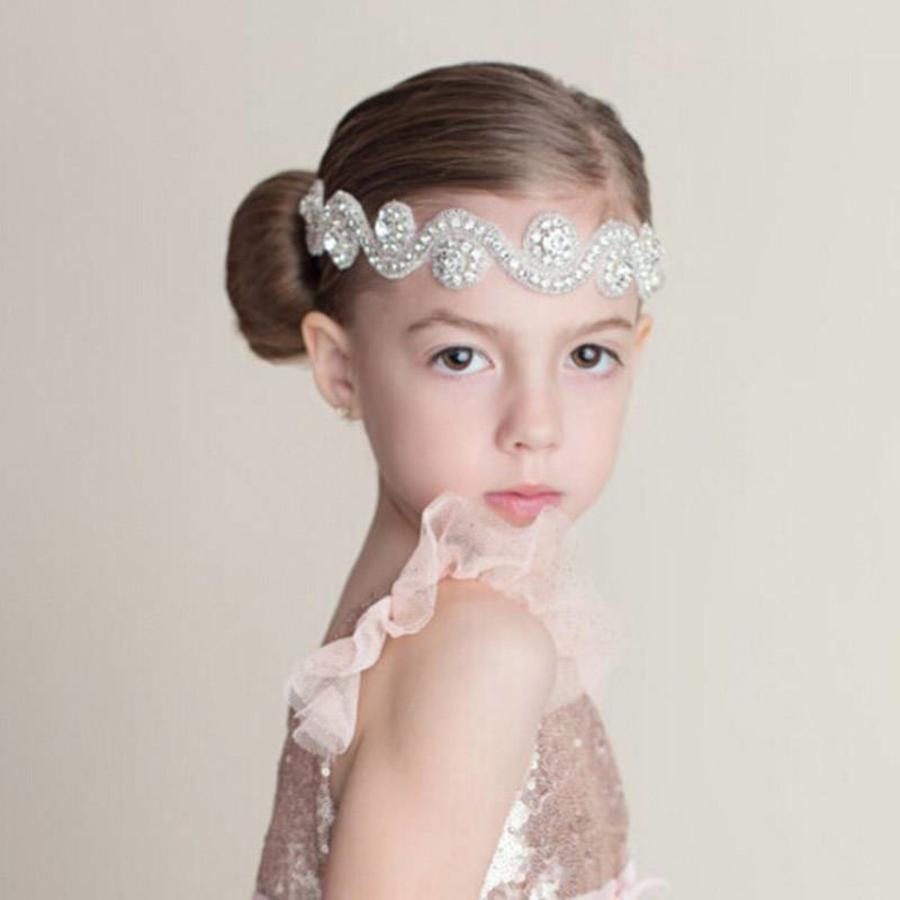 Haar Sieraad / Haarband met Fonkelende Kristallen-1