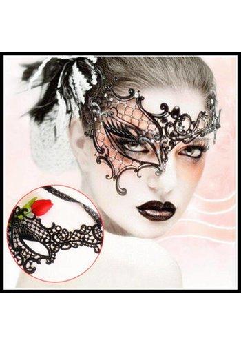 Party Masker - Zwart - 0012