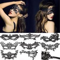 thumb-Party Masker - Zwart - 0013-2