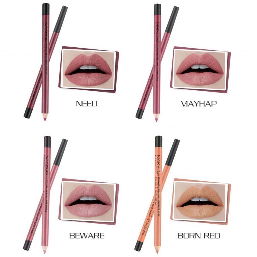 Lip Liner / Contourpotlood 12 Stuks In Box-5