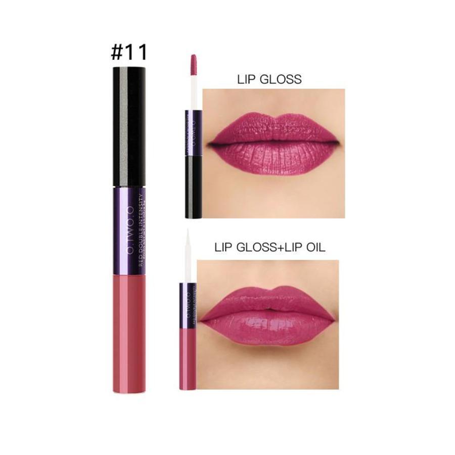 2-in-1 Matte  Lipgloss & Lip Oil - Color 11 Puppy Love-1