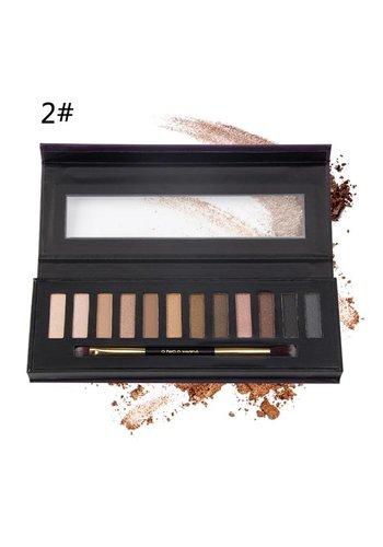 Oogschaduwpalet Nude Best Of Colors #02
