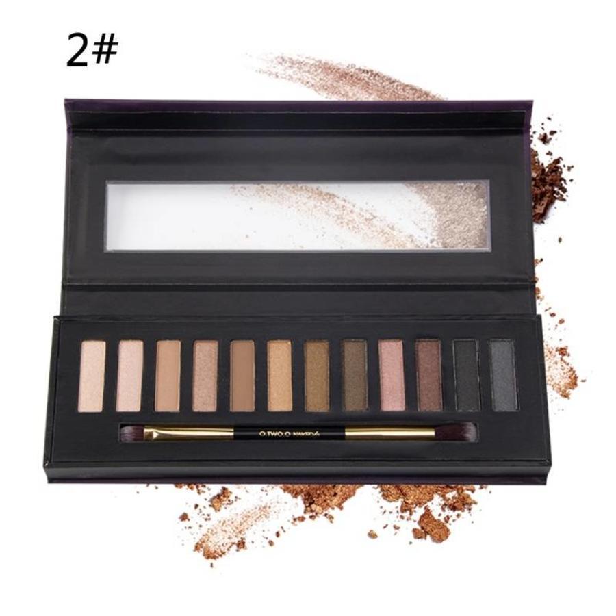 Oogschaduwpalet Nude Best Of Colors #02-1