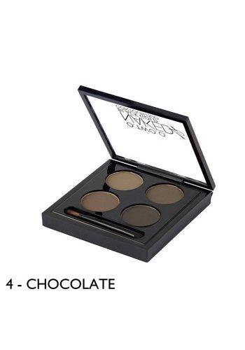 Wenkbrauwpoeder Kit - Chocolate