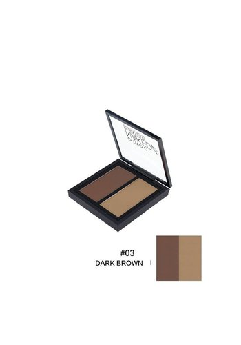 Powder Contouring Make-up Kit - Color 03 Dark Brown