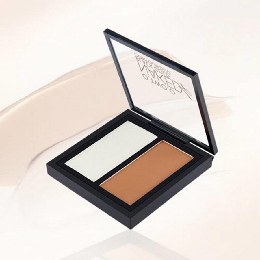 Powder Contouring Make-up Kit - Color 04 Highlight & Brown-4