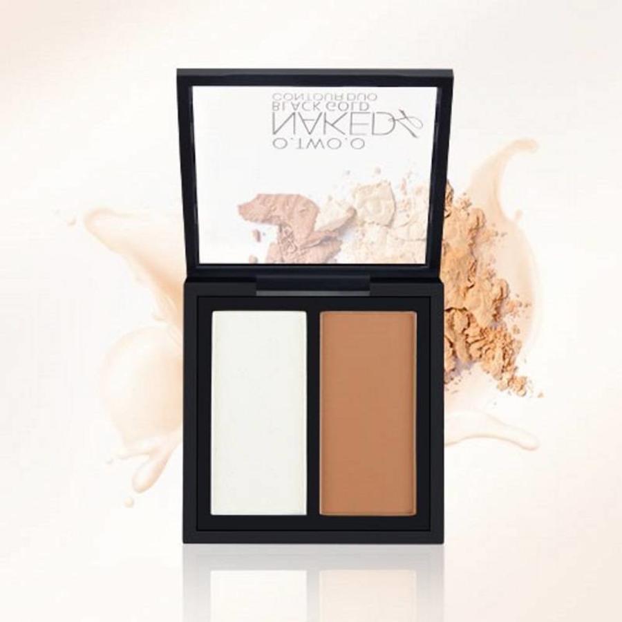 Powder Contouring Make-up Kit - Color 04 Highlight & Brown-5