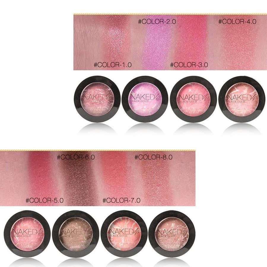 Baked Blush Rouge Color 02 Tweed Pink-4