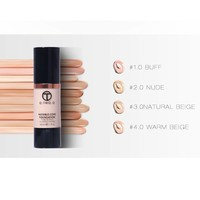 thumb-Fluid Foundation 24H Radiant - Color Nude-5