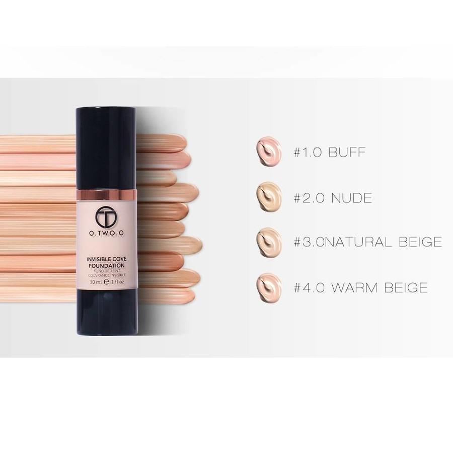 Fluid Foundation 24H Radiant - Color Warm Beige-5