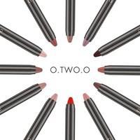 thumb-Crayon Matte Lipstick - Color 02 Crimson-6