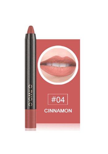 Crayon Matte Lipstick - Color 04 Cinnamon