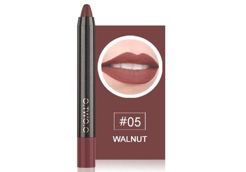 Crayon Matte Lipstick - Color 05 Walnut
