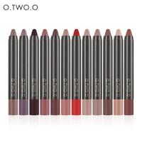 thumb-Crayon Matte Lipstick - Color 06 Deep Pink-2