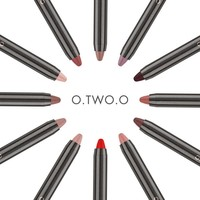 thumb-Crayon Matte Lipstick - Color 06 Deep Pink-6