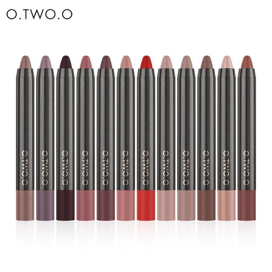 Crayon Matte Lipstick - Color 07 Red-2