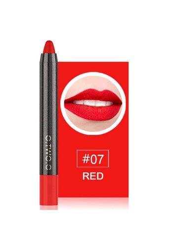 Crayon Matte Lipstick - Color 07 Red