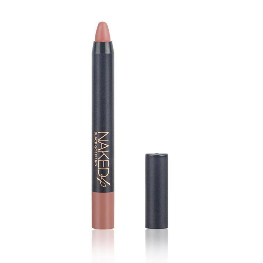 Crayon Matte Lipstick - Color 08 Regal Red-4