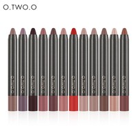 thumb-Crayon Matte Lipstick - Color 11 Soft Pink-2
